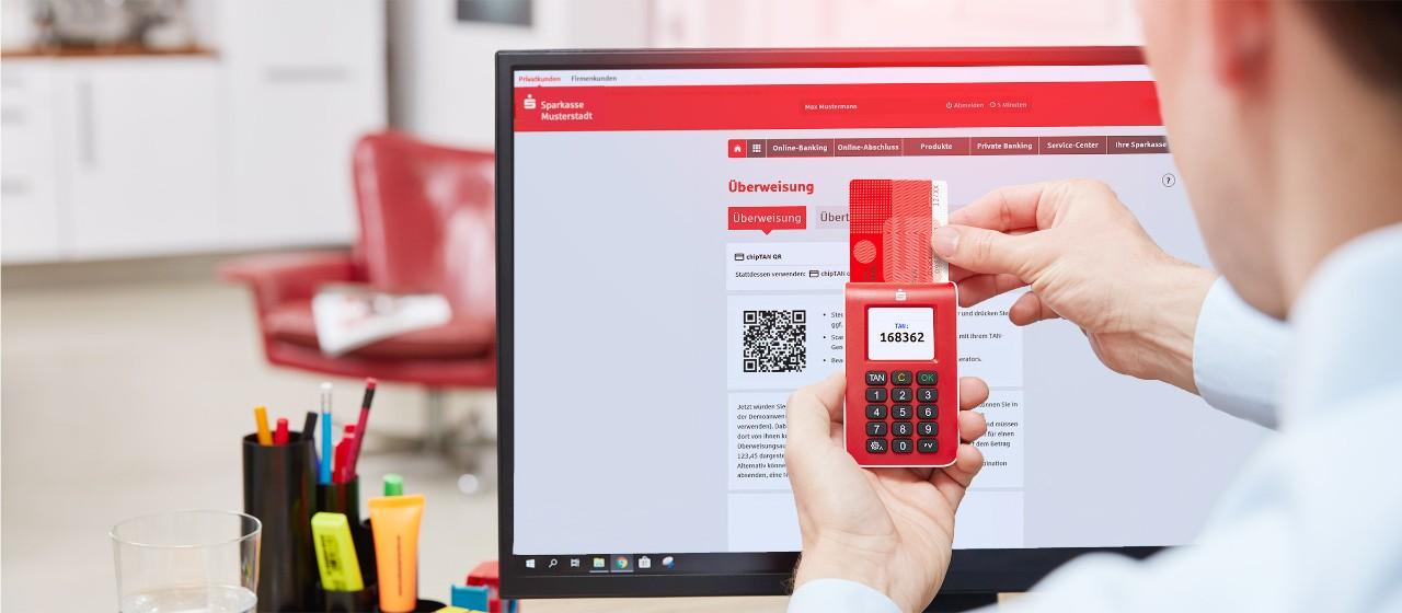 Online Banking Mit Chiptan Kreissparkasse Fallingbostel In Walsrode